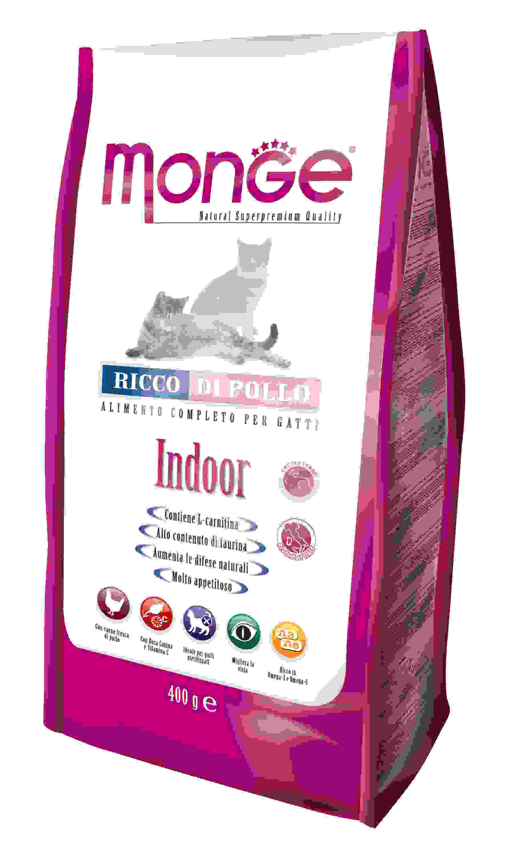 Monge Cat Indoor ���� ��� �������� ����� 400 �